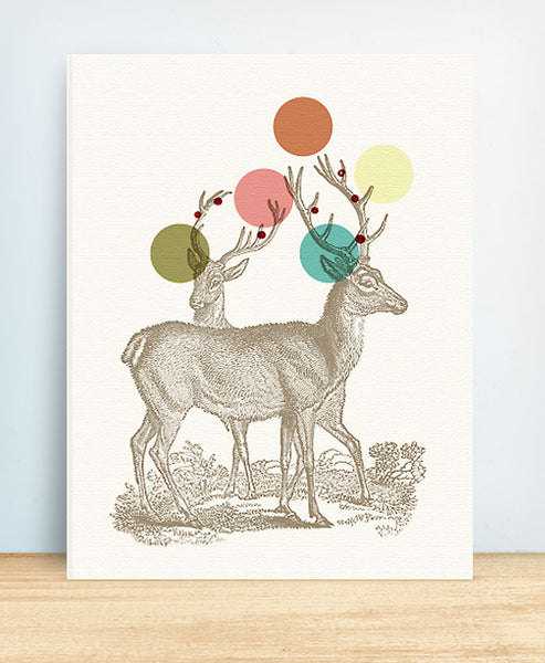 Holiday Deer - blingbebe shop ::: greetings that shine
