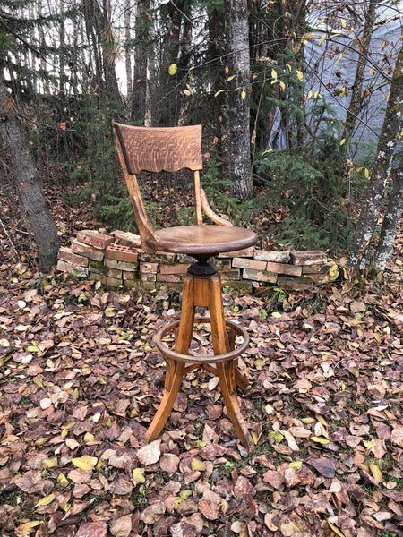 Oak Bar Stool Rental