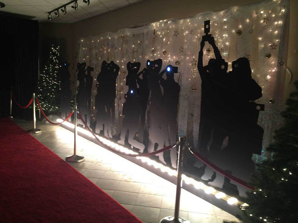 Life Size Paparazzi Display Rental