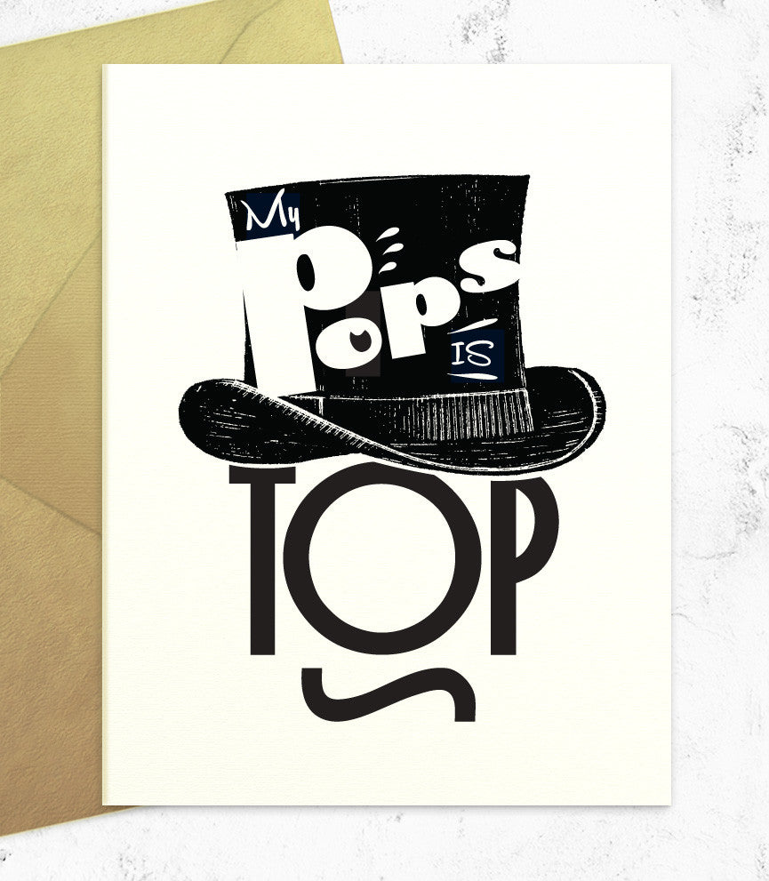 My Pops is TOPS (PT54) - blingbebe shop ::: greetings that shine