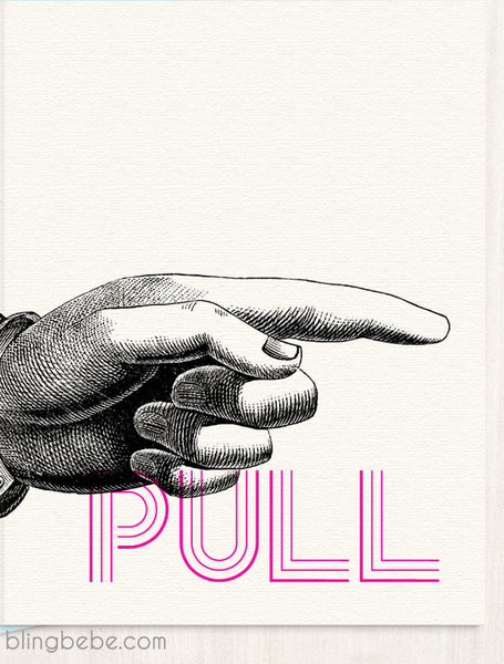 PULL [my finger] - blingbebe shop ::: greetings that shine