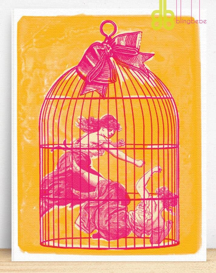 Queen of the Cage - blingbebe shop ::: greetings that shine  - 1