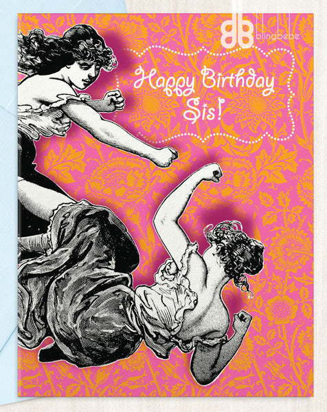 Happy Birthday Sis! - blingbebe shop ::: greetings that shine