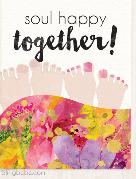 Soul Happy Together - blingbebe shop ::: greetings that shine