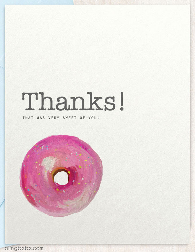 Thanks that was very sweet of you thank you card by blingbebe thanks that was very sweet of you blingbebe shop greetings m4hsunfo