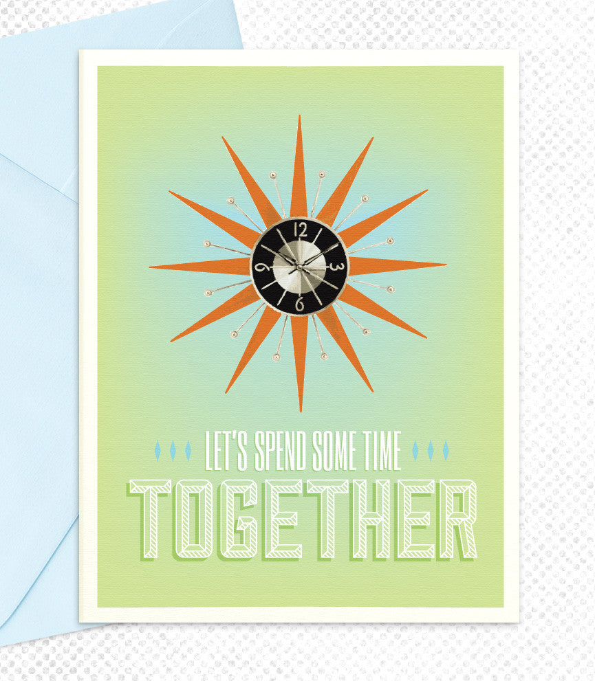 Let's Spend Some Time Together (TT16) - blingbebe shop ::: greetings that shine