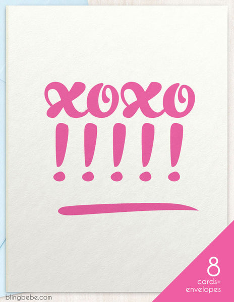 xoxo!! Box Set - blingbebe shop ::: greetings that shine