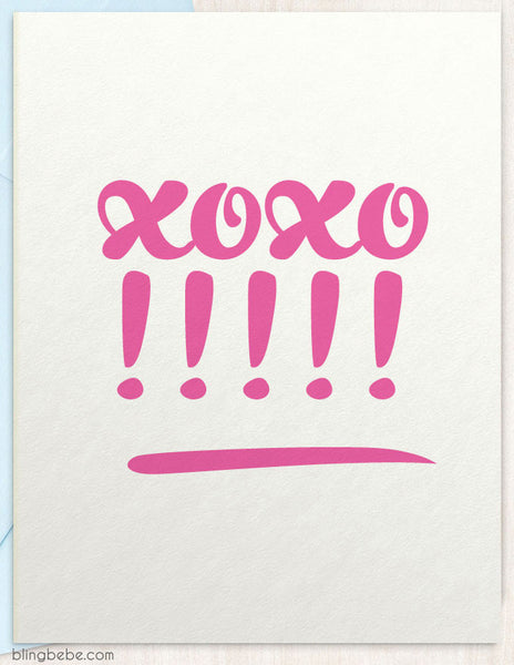 xoxo!! - blingbebe shop ::: greetings that shine  - 1