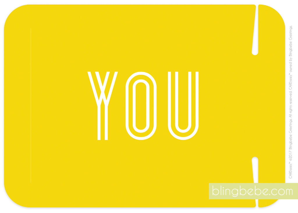 you - CARDzees™ single