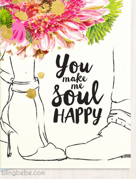 Soul Happy - blingbebe shop ::: greetings that shine  - 1