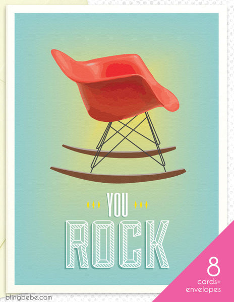 You Rock Box Set - blingbebe shop ::: greetings that shine