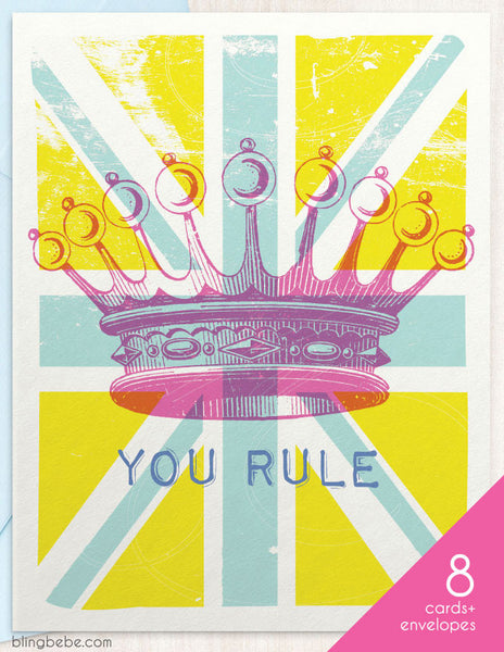 You Rule Box Set - blingbebe shop ::: greetings that shine