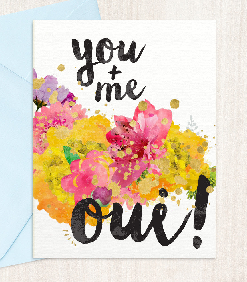 You Me Oui! (YM63) - blingbebe shop ::: greetings that shine