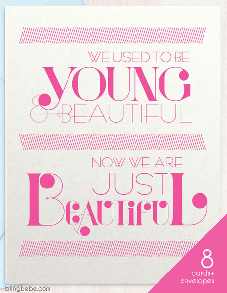 Young & Beautiful Box Set - blingbebe shop ::: greetings that shine