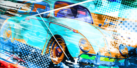 VW Beetle Artwork