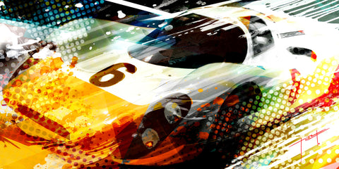 Porsche Type 908K Artwork