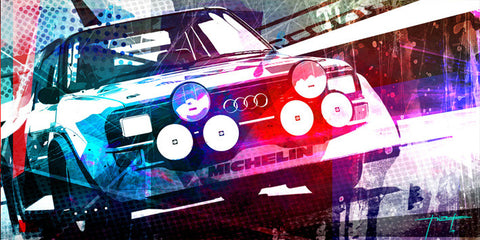 Audi Quattro Artwork