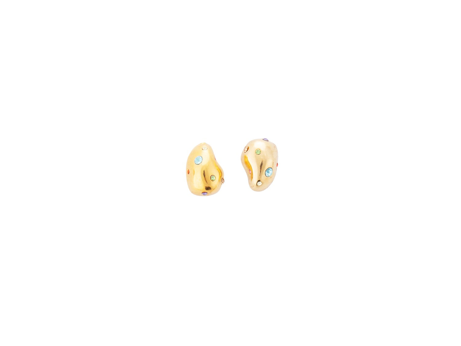 Nucleus Studs in Gold Multi