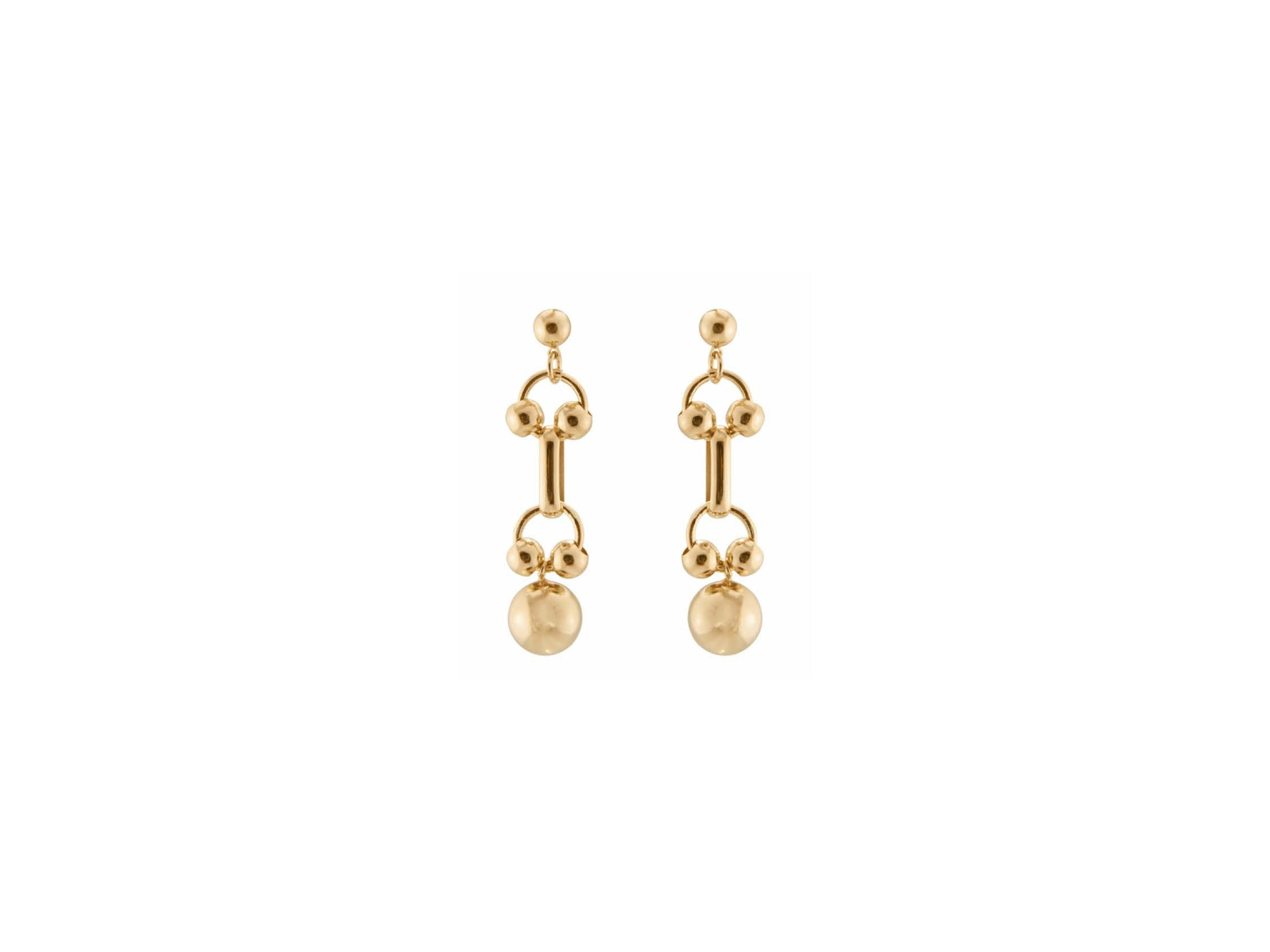 Regio Earrings / Gold
