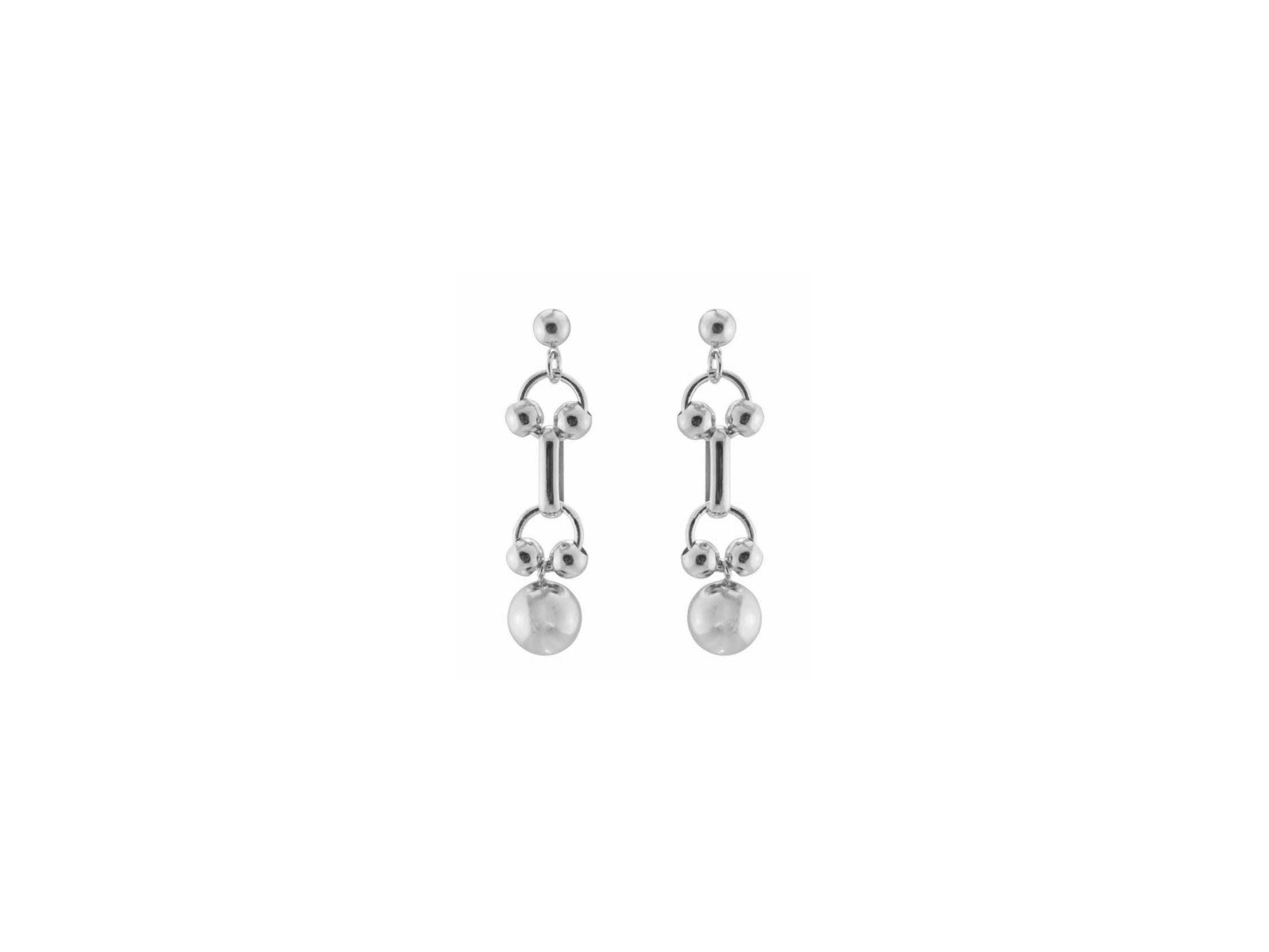 Regio Earrings / Silver