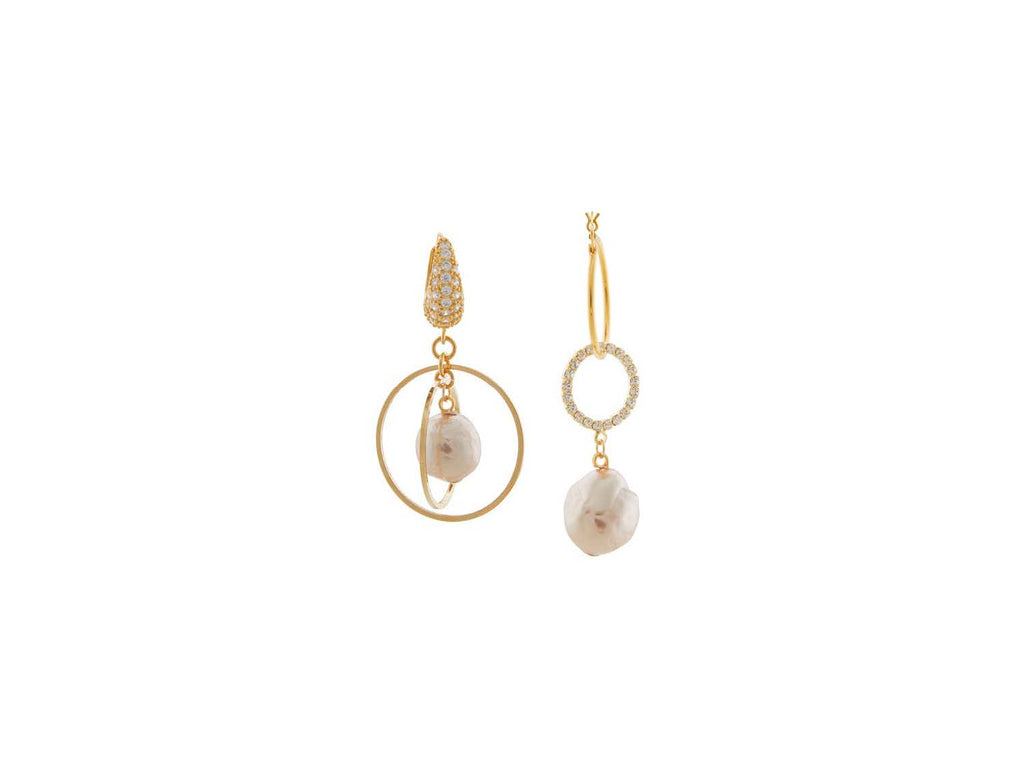 Cardiff Earrings / Gold