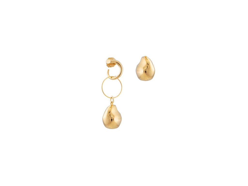 Ellipse Earrings / Gold