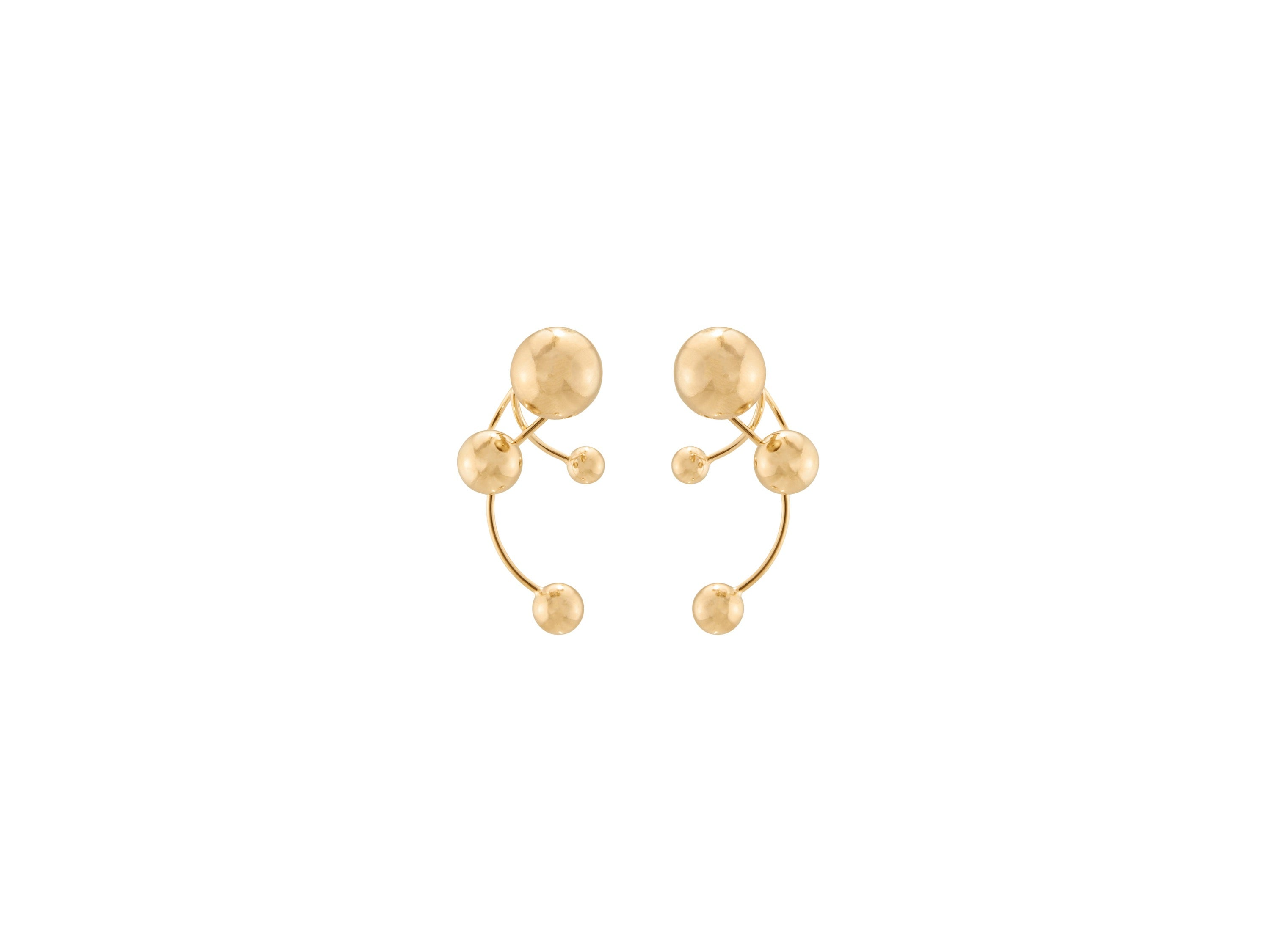 Signum Earrings / Gold