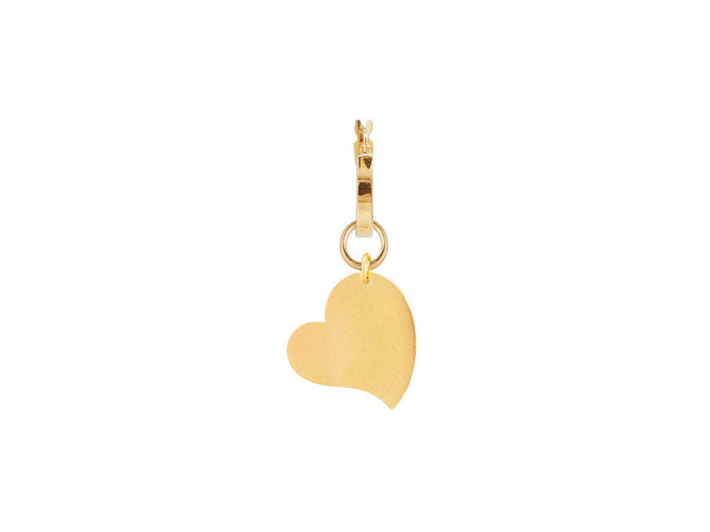 Arp Heart Single Earring / Gold