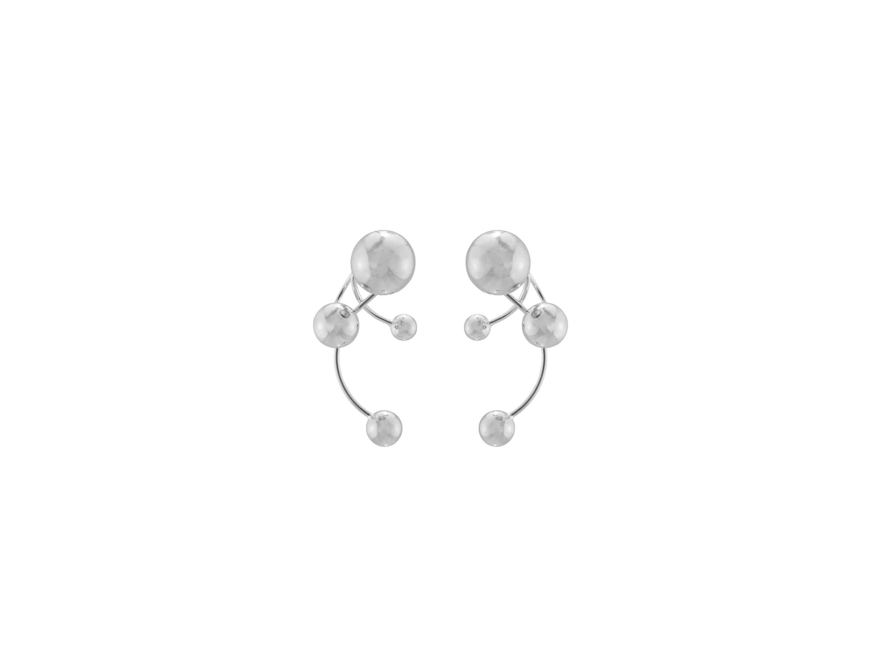 Signum Earrings / Silver