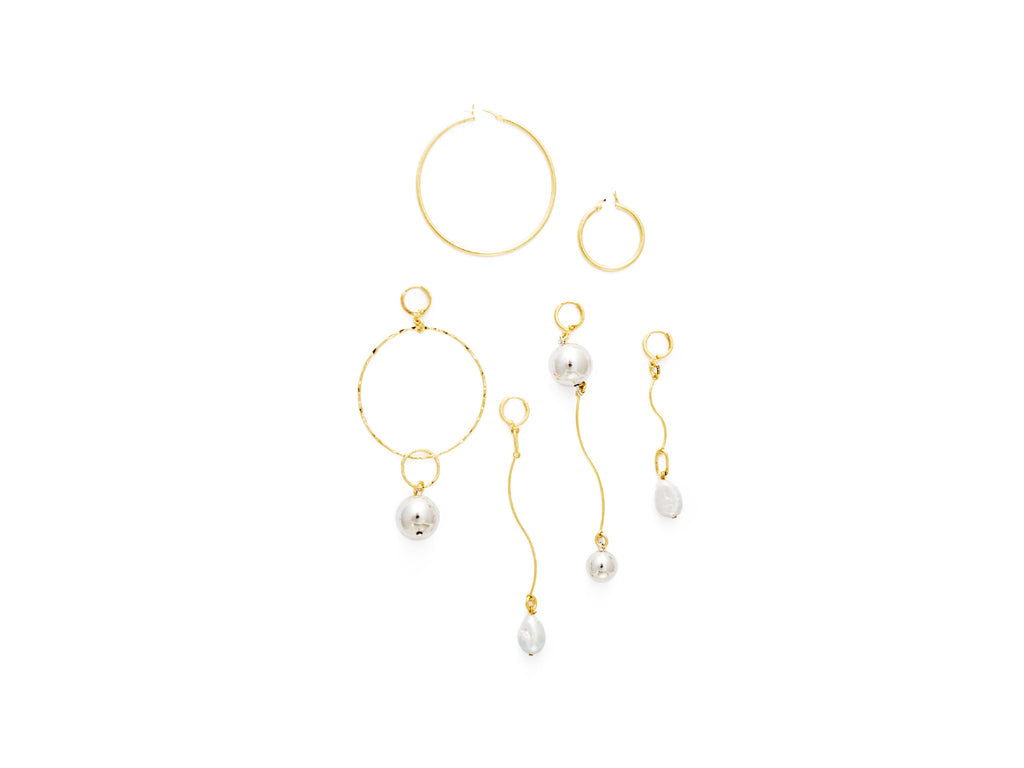 Ebb and Flow Convertible Earring Set