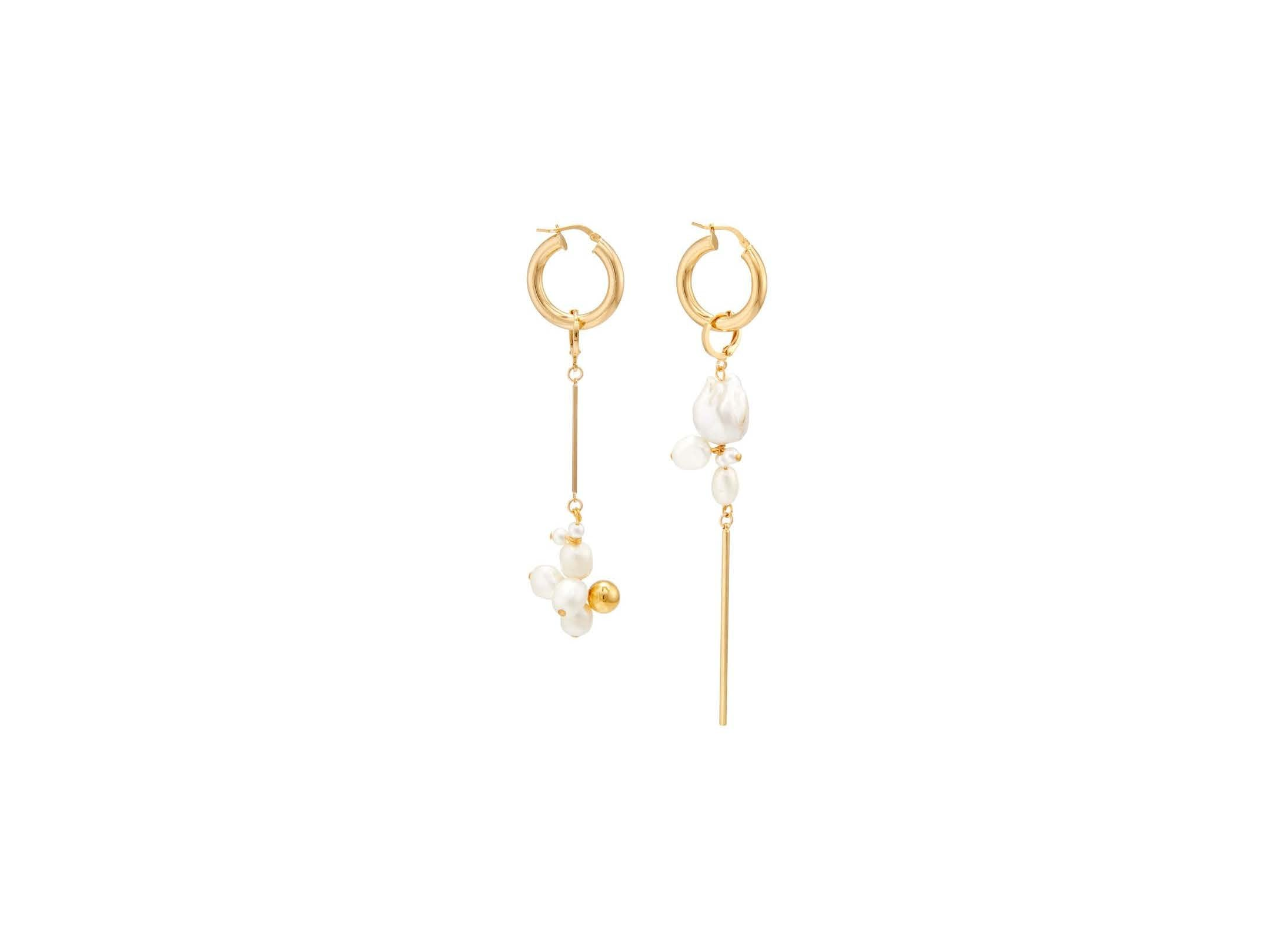 Golden Clouds Earrings / Gold