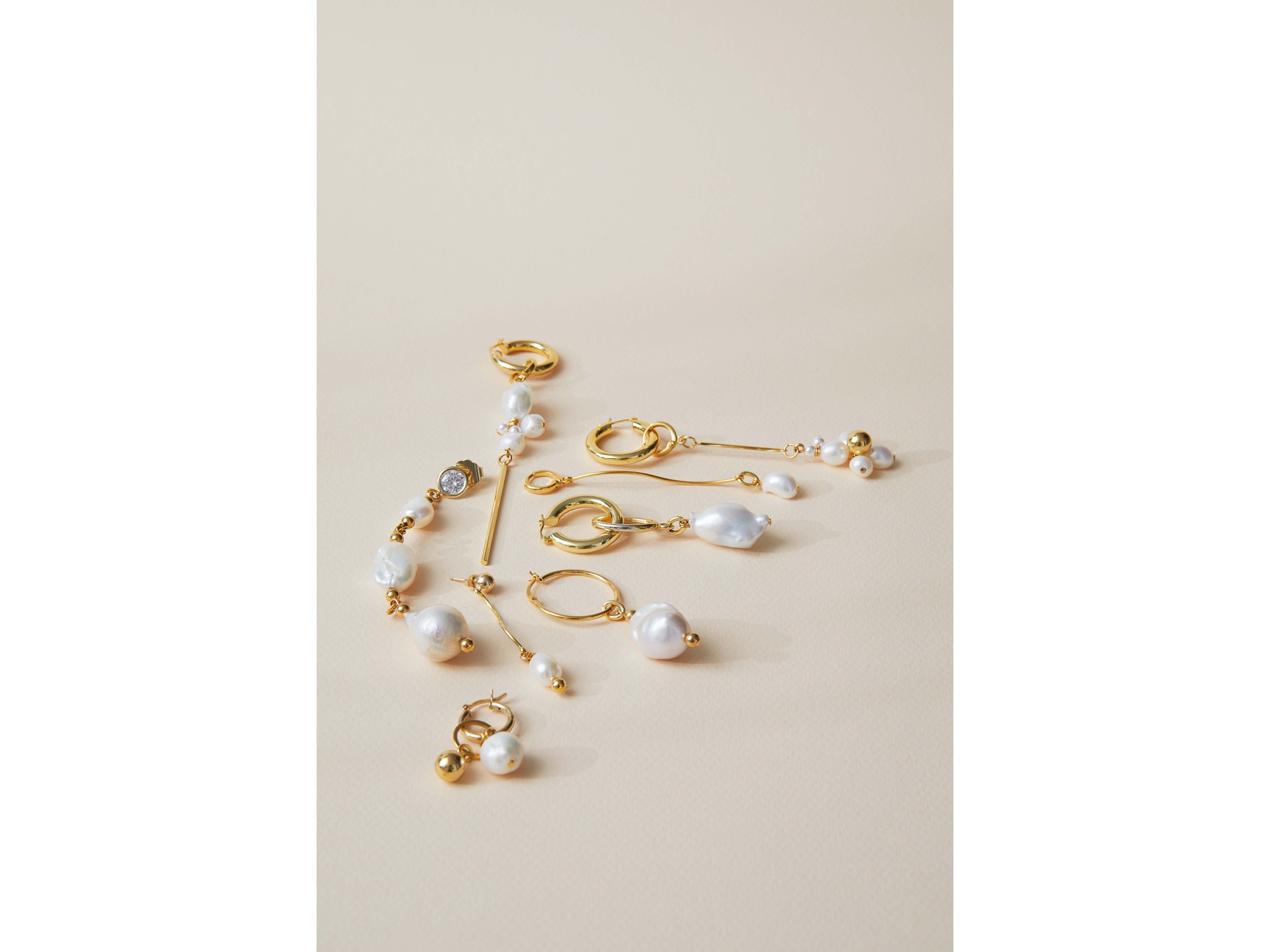 Swell Single Earring / Gold