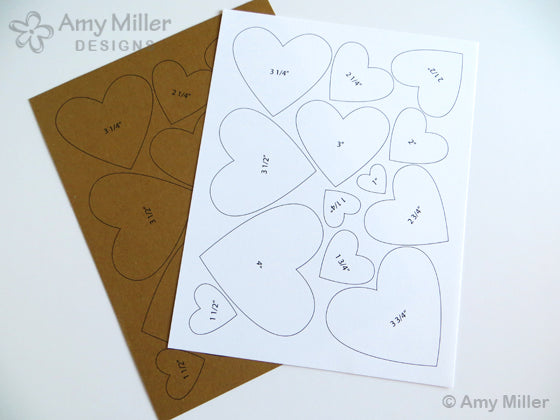 Heart Tracing Templates