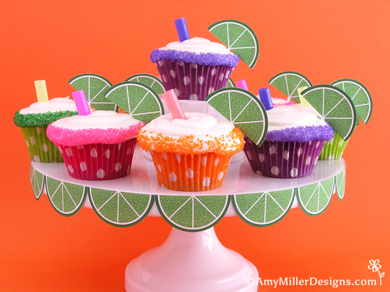 Margarita Cupcakes from Amy Miller Designs