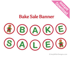 Christmas Bake Sale Banner