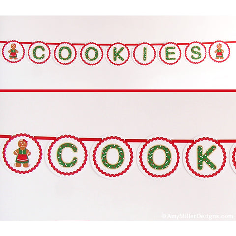 Cookie Exchange Party Banner