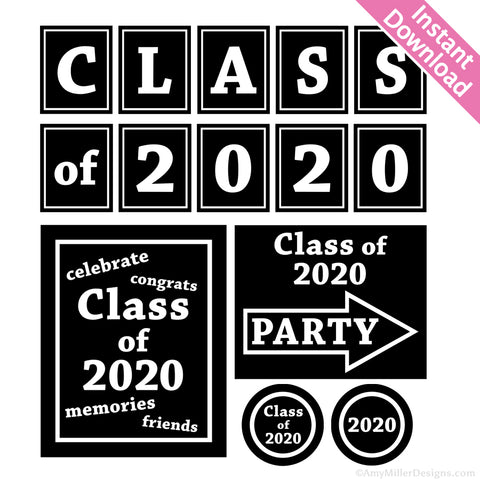 2020 Graduation Decorations