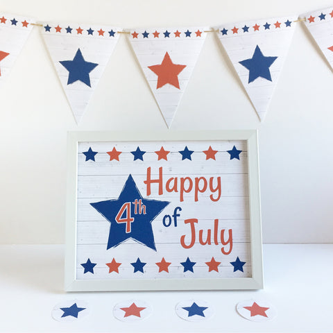 Independence Day Decoration Printables