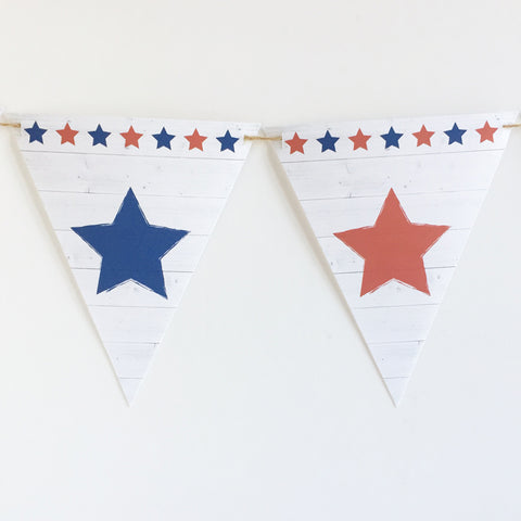 July 4th Banner Printable