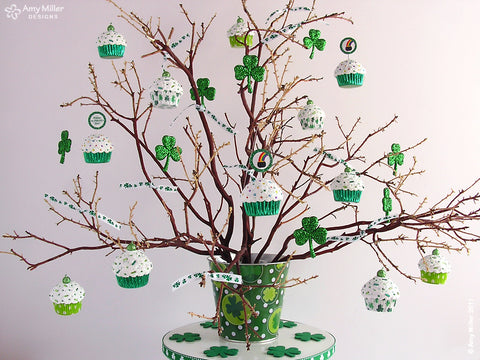 St Patricks Day Seasonal Tree