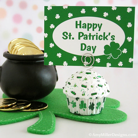 St. Patrick's Day Note Holder