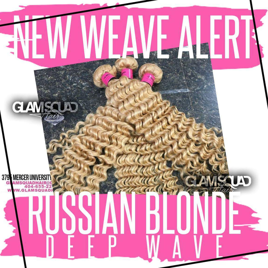 Russian Blonde Deepwave - Glam Squad Hair