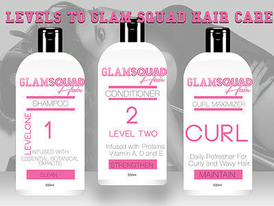 Signature Shampoo & Conditioner - Glam Squad Hair
