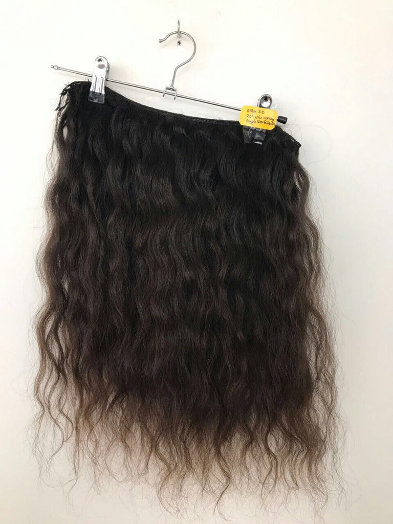 Raw Indian Hair Wavy - Glam Squad Hair