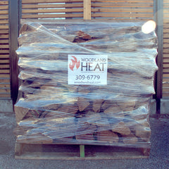 Firewood Pallet Wrapped