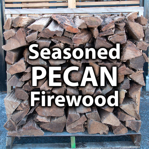 Seasoned Pecan Firewood - 1 Pallet