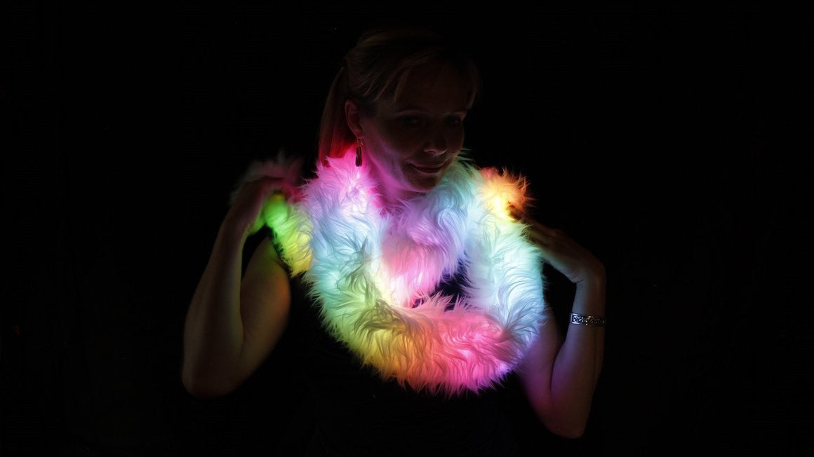 Bubble Lights Party Scarf