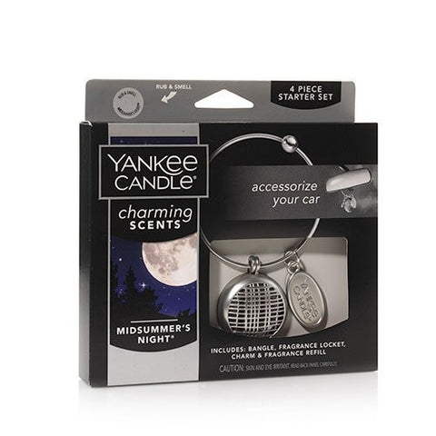 Yankee Candle Charming Scents 4 Piece Starter Set  - Midsummer's Night