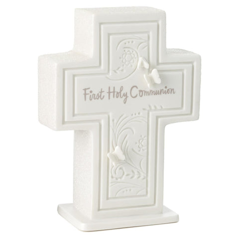 Hallmark First Holy Communion Cross Decorative Accessories Religious Events