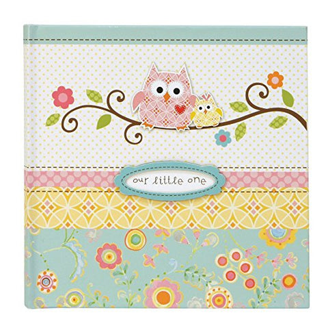 C.R. Gibson BP1-9022 - Happi Baby Girl Slim Bound  Photo Album